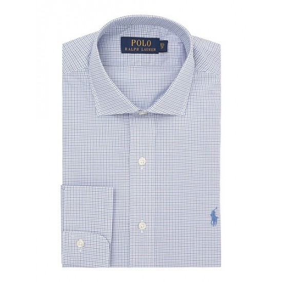 Polo ralph lauren men dress shirt navy
