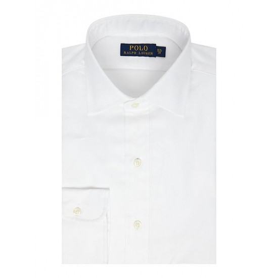 Polo ralph lauren men regular custom fit regent shirt white