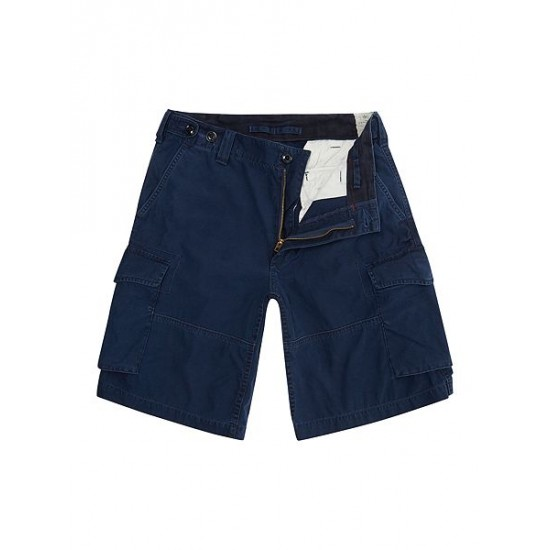 Polo ralph lauren men classic fit cargo shorts navy