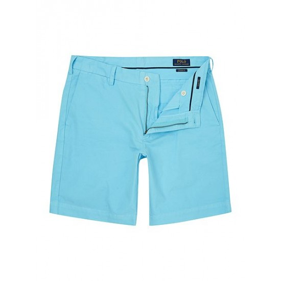 Polo ralph lauren men newport straight fit short blue
