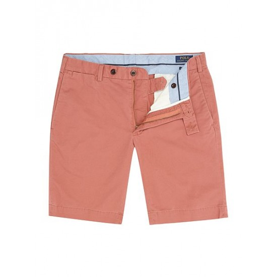 Polo ralph lauren men slim fit hudson shorts red
