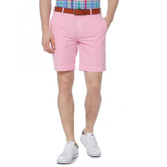 Polo ralph lauren men newport straight fit short pink