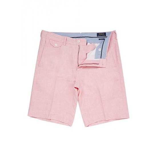 Polo ralph lauren men straight fit briton chino shorts pink