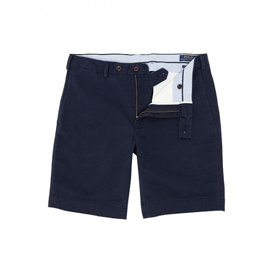 Polo ralph lauren men slim fit hudson shorts navy