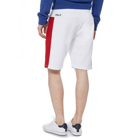 Polo ralph lauren men countries of the world great britain shorts white