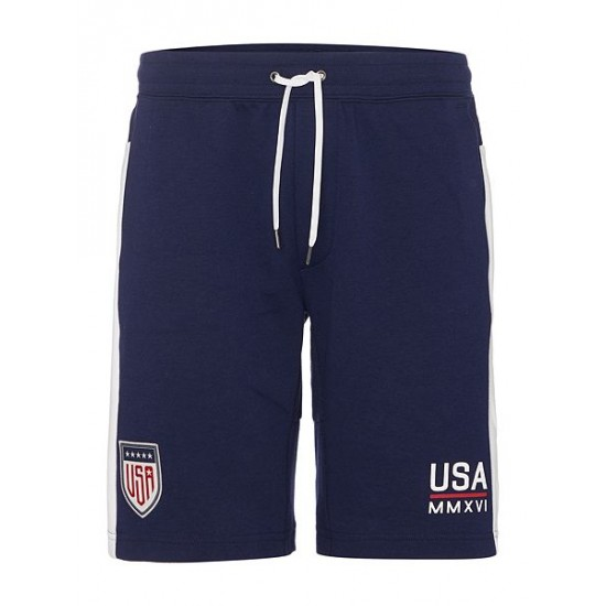 Polo ralph lauren men countries of the world usa shorts navy
