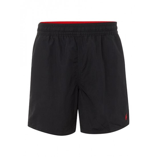 Polo ralph lauren men classic swim shorts black