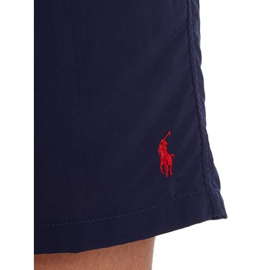 Polo ralph lauren men classic swim shorts denim indigo