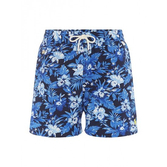 Polo ralph lauren men floral swim shorts navy