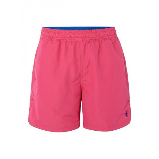 Polo ralph lauren men classic swim shorts hot pink