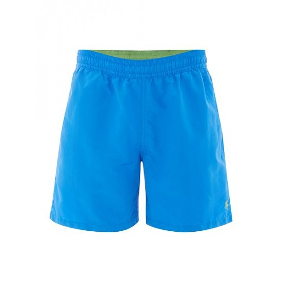 Polo ralph lauren men classic swim shorts blue