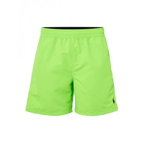 Polo ralph lauren men classic neon swim shorts lime