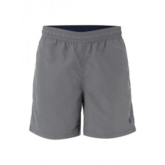 Polo ralph lauren men classic swim shorts grey