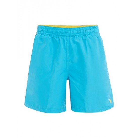 Polo ralph lauren men classic swim shorts blue outlet UK