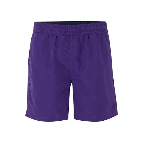 Polo ralph lauren men classic swim shorts purple