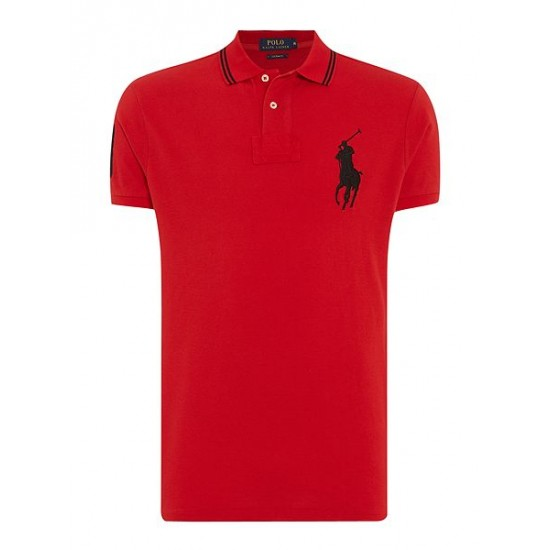 Polo ralph lauren men chinese new year polo shirt red
