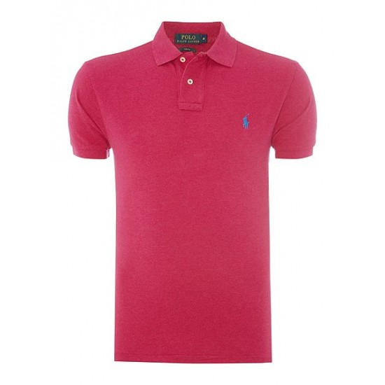 ralph lauren men slim fit basic mesh polo pink sale