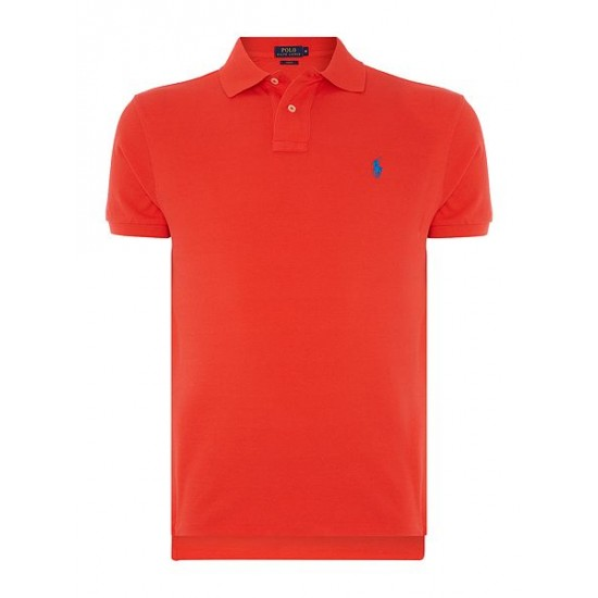 ralph lauren men short sleeve slim fit polo shirt red buy