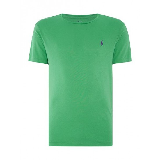 Polo ralph lauren men basic crew short sleeve tee green