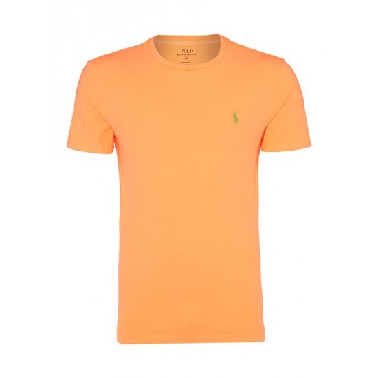 Polo ralph lauren men basic crew short sleeve tee melon
