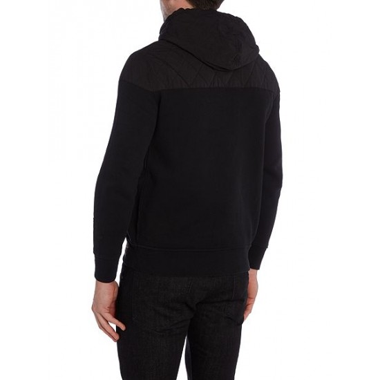 Polo ralph lauren men 1967 zip through hooded jumper black
