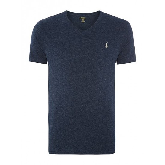Polo ralph lauren men basic v neck short sleeve tee eclipse