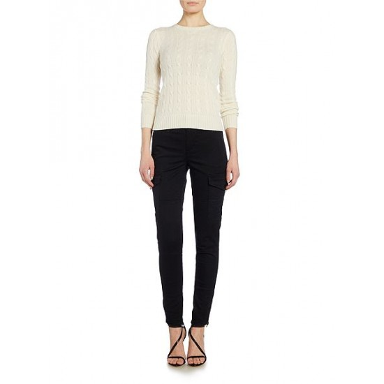 Polo ralph lauren women julianna cashmere cream