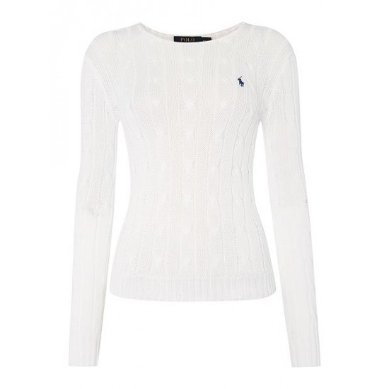 Polo ralph lauren women julianna long sleeve sweater white