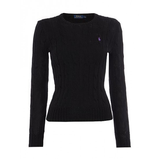 Polo ralph lauren women julianna long sleeve sweater black