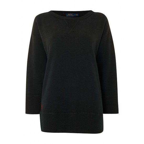 Polo ralph lauren women long sleeve pullover sweater black
