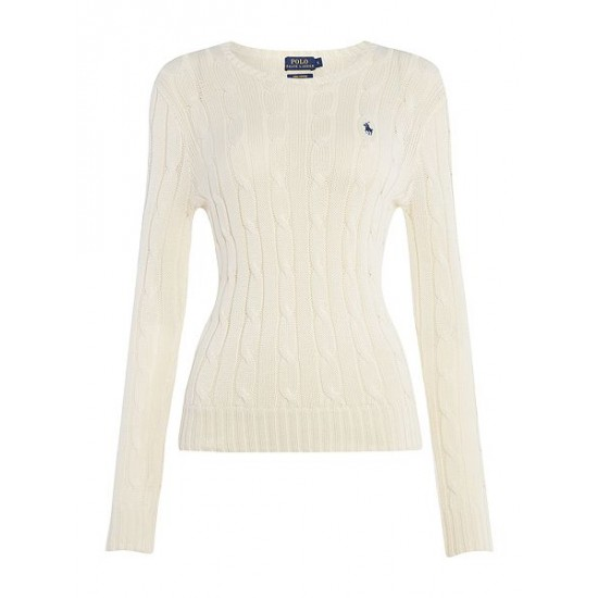 Polo ralph lauren women julianna long sleeve sweater cream