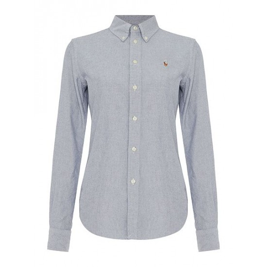 Polo ralph lauren women harper shirt grey